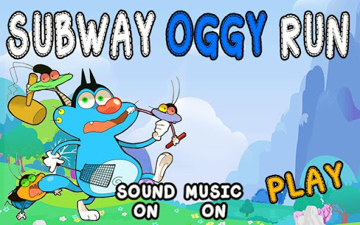 Subway Oggy Run