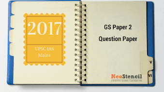 UPSC Civil Services IAS Mains 2017 : GS Paper 2 Question Paper