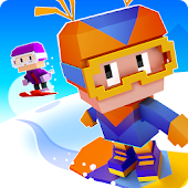 Blocky Snowboarding icon