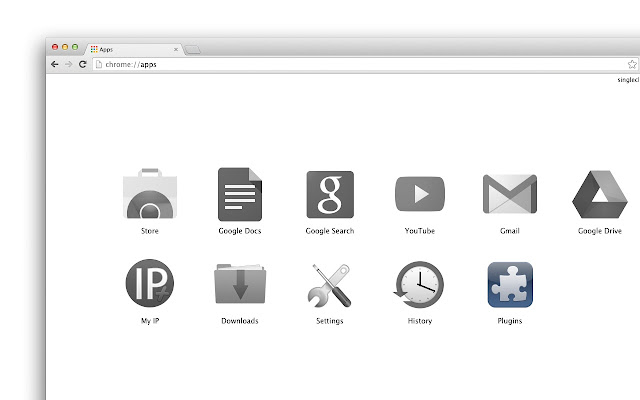 about chrome plugins page