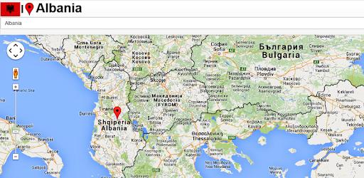 Albania On A Map Albania map   Apps on Google Play