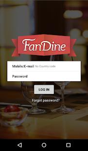 Fandine Server screenshot