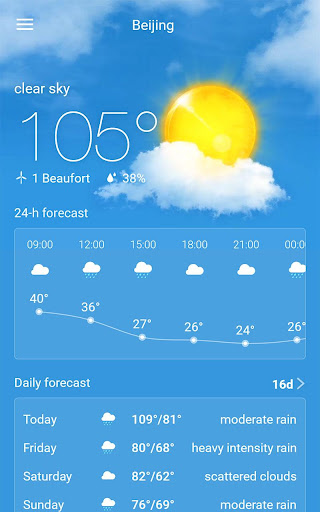 Weather Radar & Forecast 1.9.3 screenshots 10