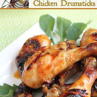 Asian Chicken Drumsticks - grilled.