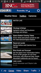 WDBJ7 Weather & Traffic- screenshot thumbnail