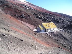Photo: Refuge du Cotopaxi, 4800 m