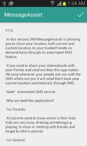 MA Message Assist
