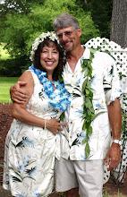 Photo: Luau Wedding by their pool - Greenwood, SC 6/09 ~www.WeddingWoman.net~