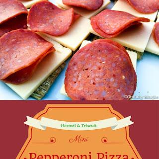 Easy Eats - Mini Pepperoni Pizza Snackers