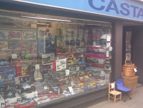 Photo: Quite close to the Minster, Castaline model & fishing shop, purveyors of maggots and the little pots of modelling paint so hard to find since the demise of Woolworths.