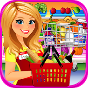 Supermarket Grocery Store Girl - Cashier Games