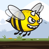 Angry Bee - Flying Bee Game Android APK Download Free By Neptune Development