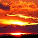 beautiful sunset wallpaper icon