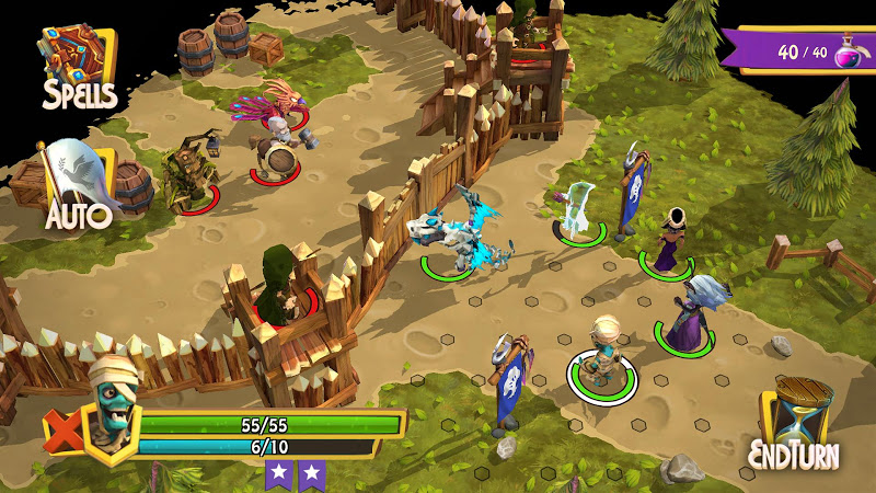 Heroes of Flatlandia Screenshot 1