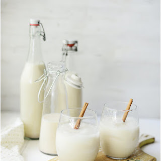 Traditional Mexican Horchata.
