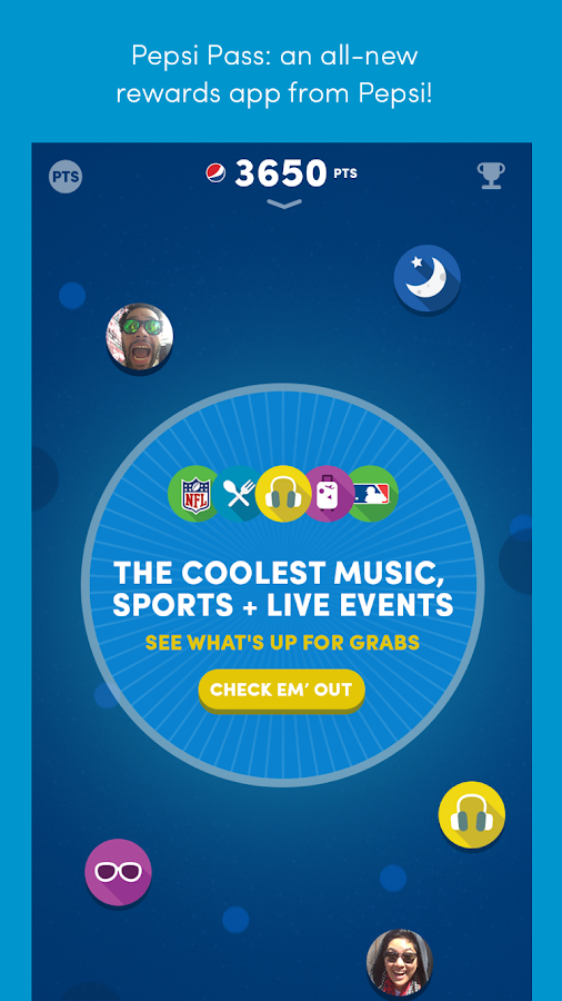 Pepsi Pass- screenshot