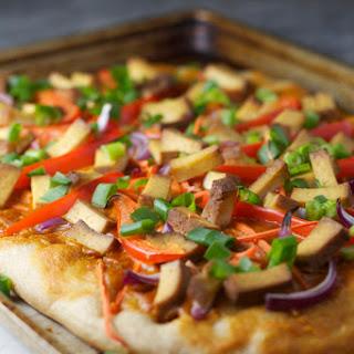 Thai Tofu Pizza.