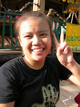 Photo: A friendly local at a bar, right off the track Attapeu in south east Laos.