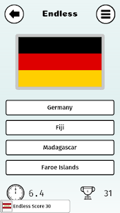 Flagsplosion: A Flag Identifying Endless Quiz- screenshot thumbnail