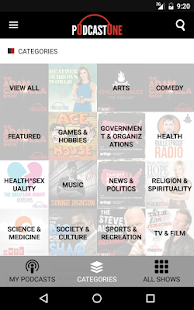 PodcastOne - Best 200 Podcasts- screenshot thumbnail