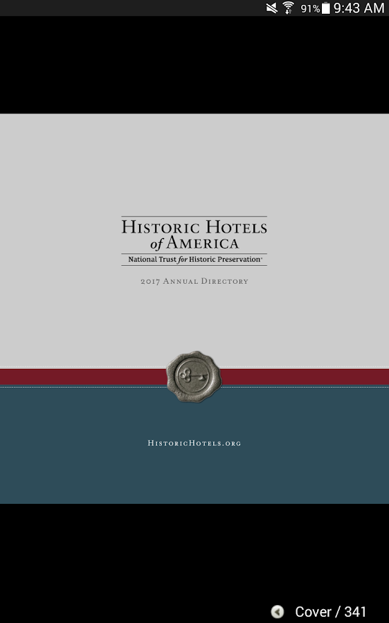 Historic Hotels of America- screenshot