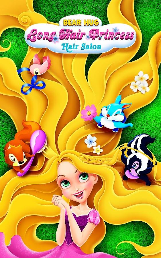 Enjoyable Long Hair Princess Hair Salon Android Apps On Google Play Hairstyle Inspiration Daily Dogsangcom