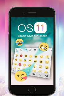keyboard emoji for iphone x 2018 - náhled