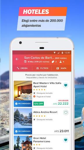 Almundo - Vuelos, Hoteles y mu00e1s 3.15.1 screenshots 2