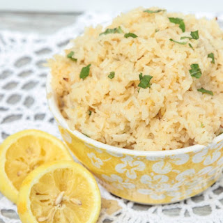Lemon Rice Pilaf with Mint
