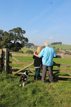Photo: Admiring the view at Alstonefield