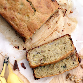Banana Walnut Bread (Gluten Free / Dairy Free).