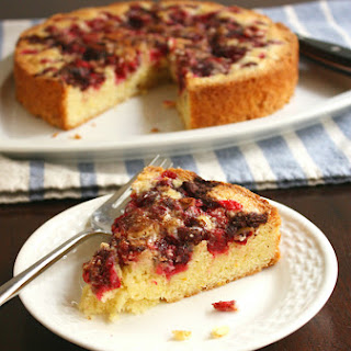 Orange Cranberry Torte