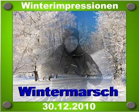 Photo: 30.12.2010 - Wanderung nach Ingolstadt/Mitte entlang der Donau und zurück