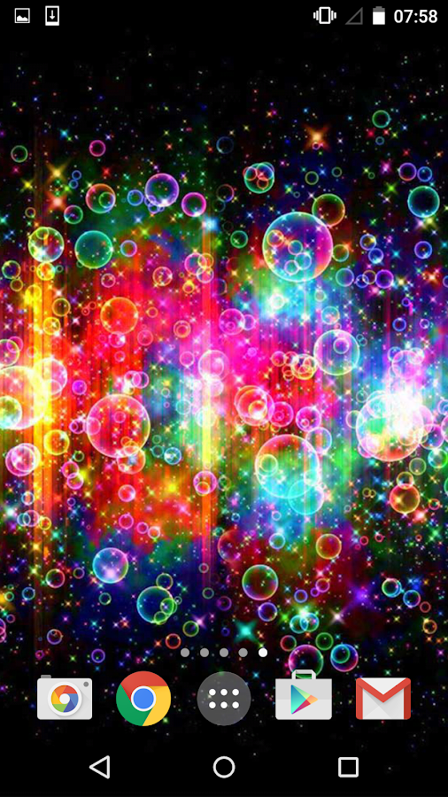 neon bubbles live wallpaper android apps on google play