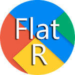 Flat Round Icon Pack Material v1
