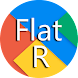 Flat Round Icon Pack Material