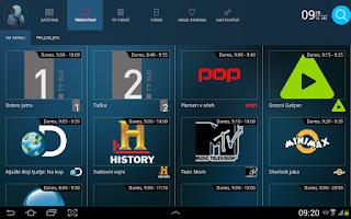 Screenshot of Predvajaj.si