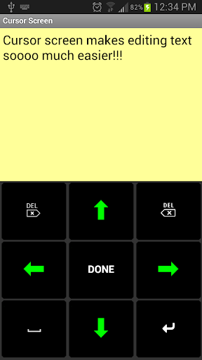 Screenshot for Big Buttons Keyboard Deluxe in United States Play Store
