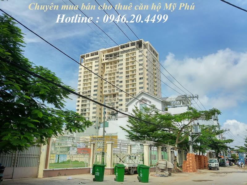 tổng thể căn hộ chung cư mỹ phú cho thuê giá rẻ tphcm