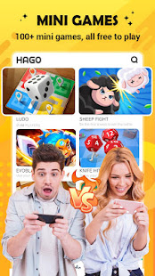 HAGO - Hangout Virtually: Game, Chat, Live