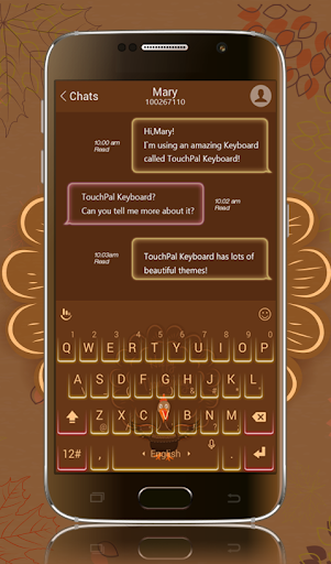 TouchPal Gratitude Skin Theme