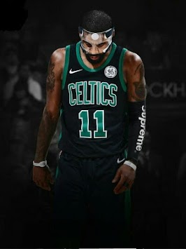 Kyrie Irving Wallpaper Celtics Poster