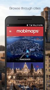 mobiMAPS - náhled