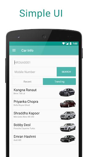 Car Info - Number Plate Info  screenshots 1