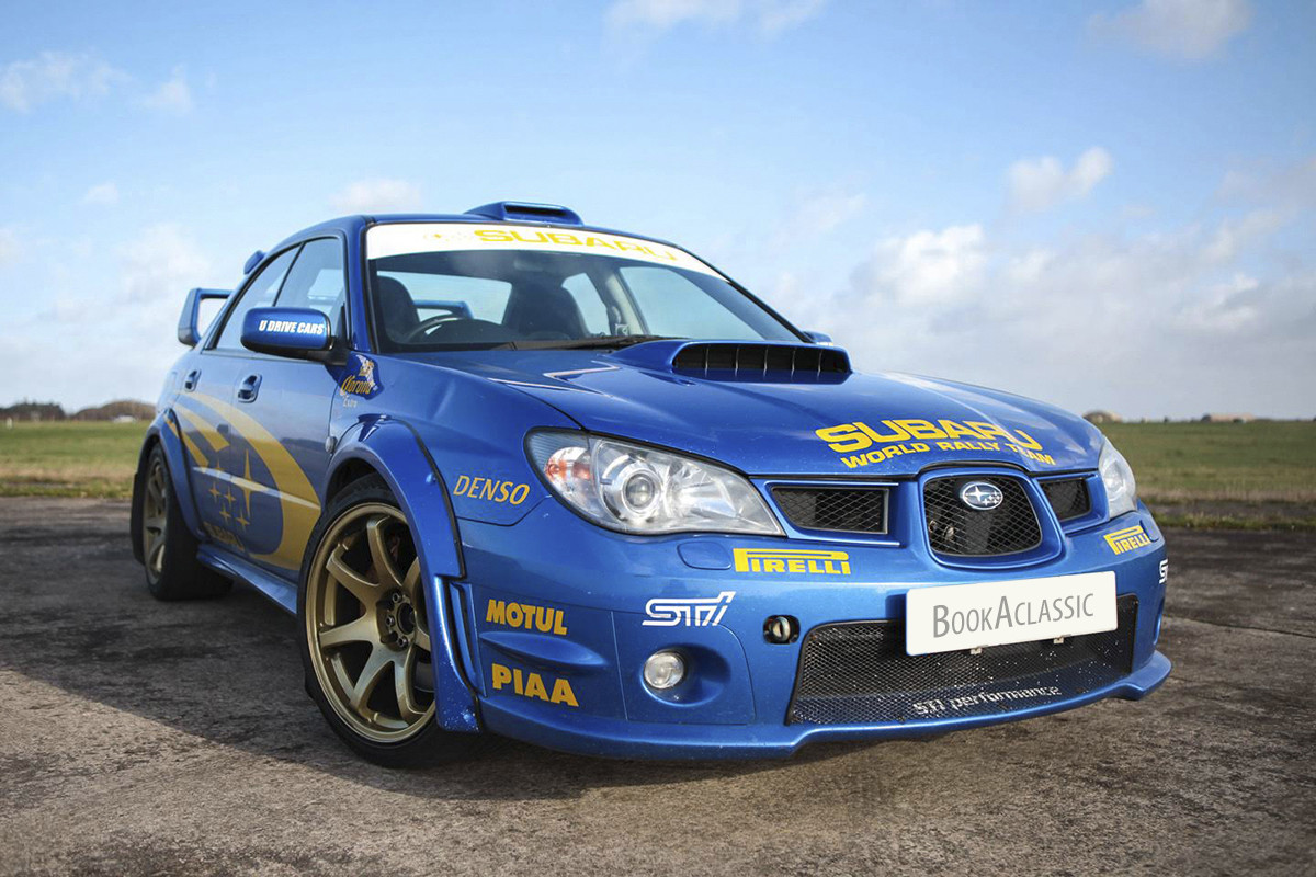 Subaru Wrx Sti Hire Cardiff