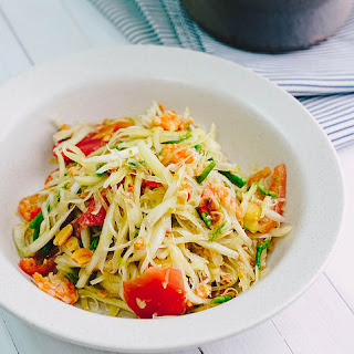 'Som Tum' Thai Papaya Salad.