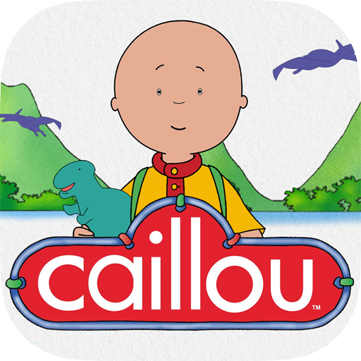 Caillou the Dinosaur Hunter - Story and Activities file APK Free for PC, smart TV Download
