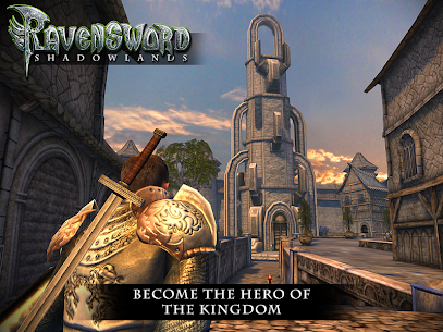 Ravensword: Shadowlands 3d RPG Apk Download For Android and Iphone 7
