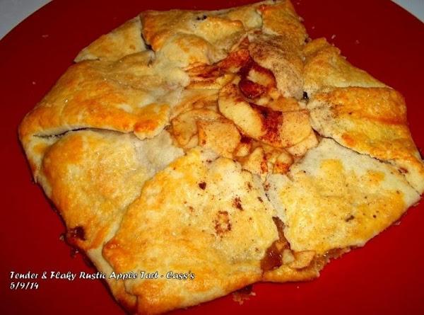 Tender & Flaky Rustic Apple Tart - Cass's Recipe