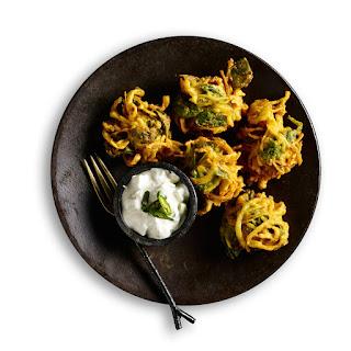 Vegetable Pakoras.